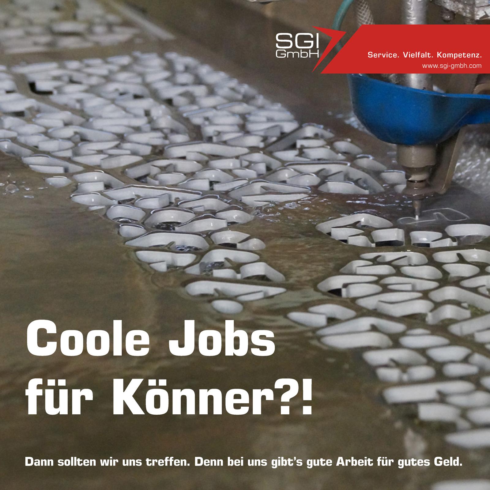 Coole Jobs für Könner.