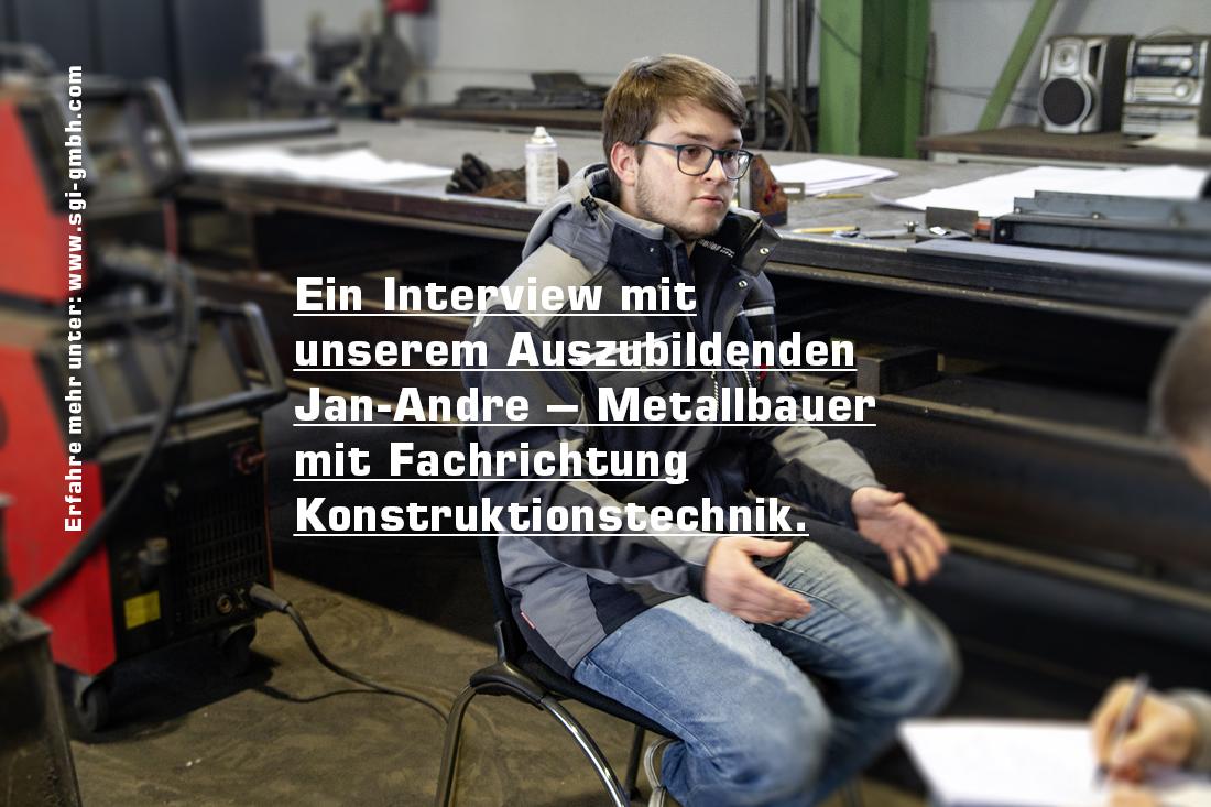 Ausbildung als Metallbauer mit Fachrichtung Konstruktionstechnik