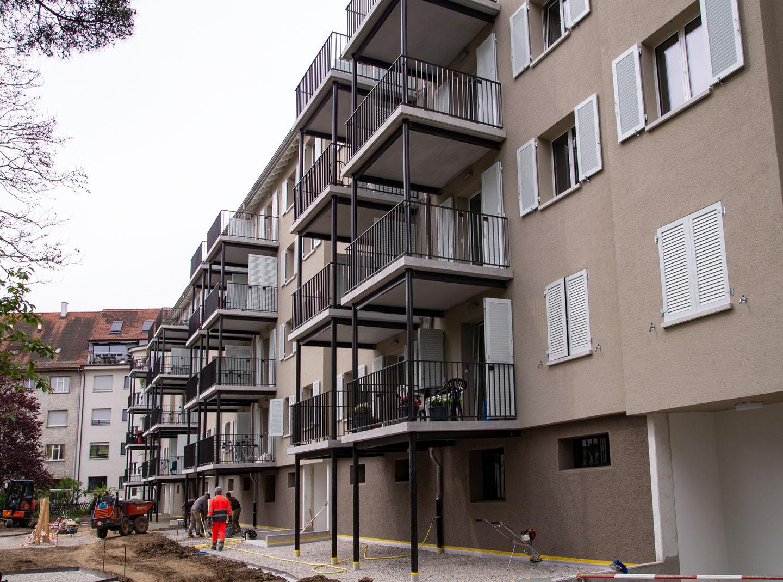 Gute Arbeit Moderne Balkontürme Für Ein Gelungenes Ensemble Sgi Gmbh