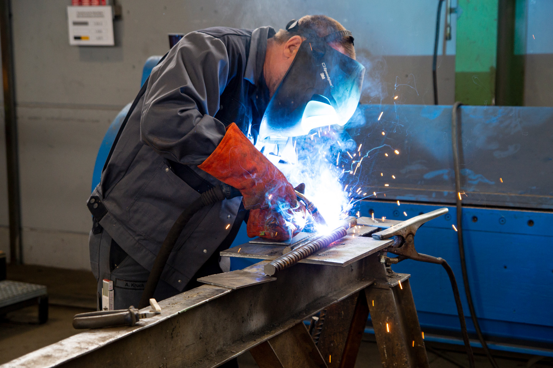 Baustahl Schweißen - Zertifizierung nach DIN EN ISO 17660